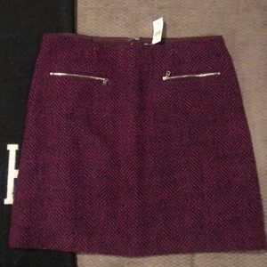 Loft Tweed Skirt- Brand New